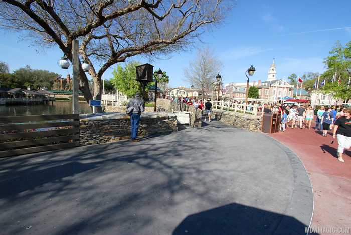 Liberty Square walkway expansion open