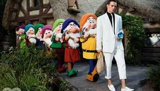 GQ Style magazine publishes first ever menswear fashion shoot at Walt Disney World Resort
