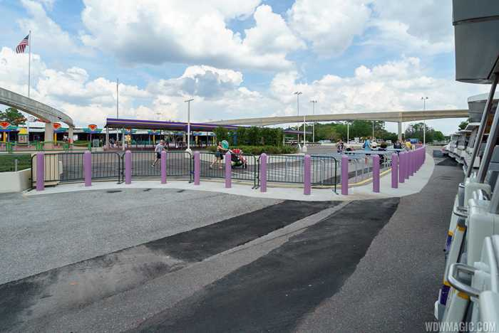 New Magic Kingdom TTC security screening