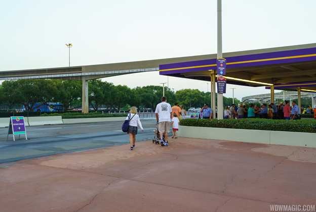 New Magic Kingdom area bag check areas