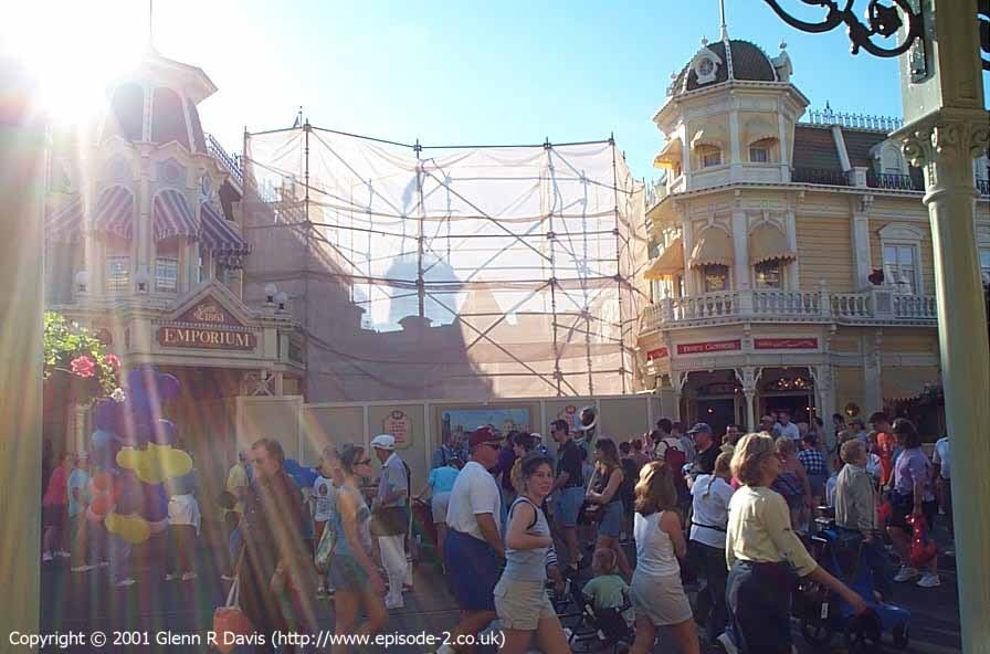 Main Street Emporium construction photos