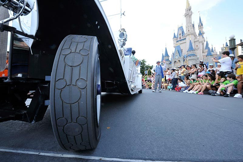New Grand Marshal vehicle debuts in the Magic Kingdom