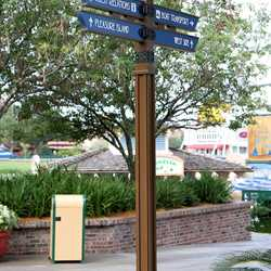 New Marketplace signage