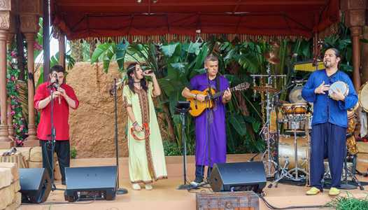 VIDEO - New act Matboukha Groove now playing at Epcot's Morocco Pavilion