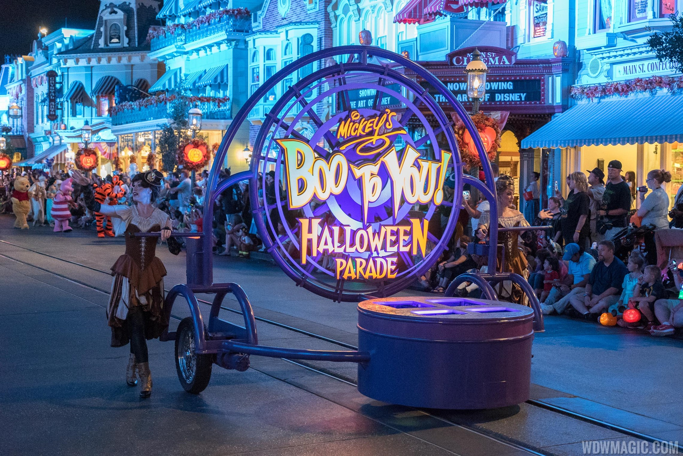 Mickey's Boo to You Halloween Parade 2015