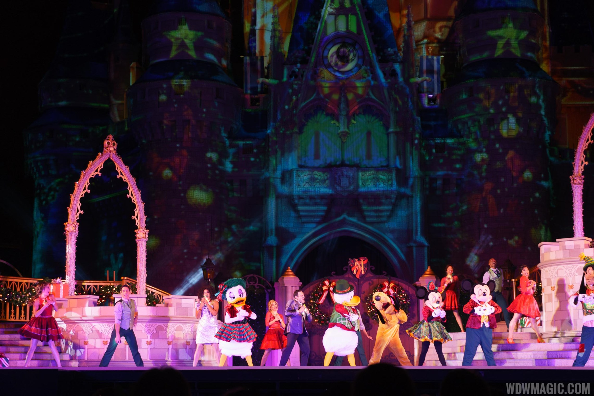 Mickey's Most Merriest Celebration show