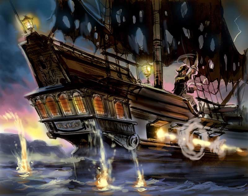 Pirates of the Caribbean concept art