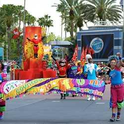 Parade performance