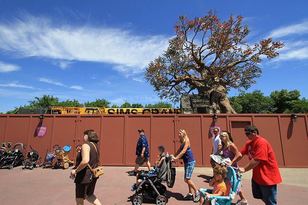 Pooh's Playful Spot tree removal