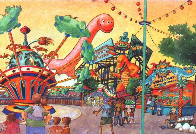 Primeval Whirl concept art