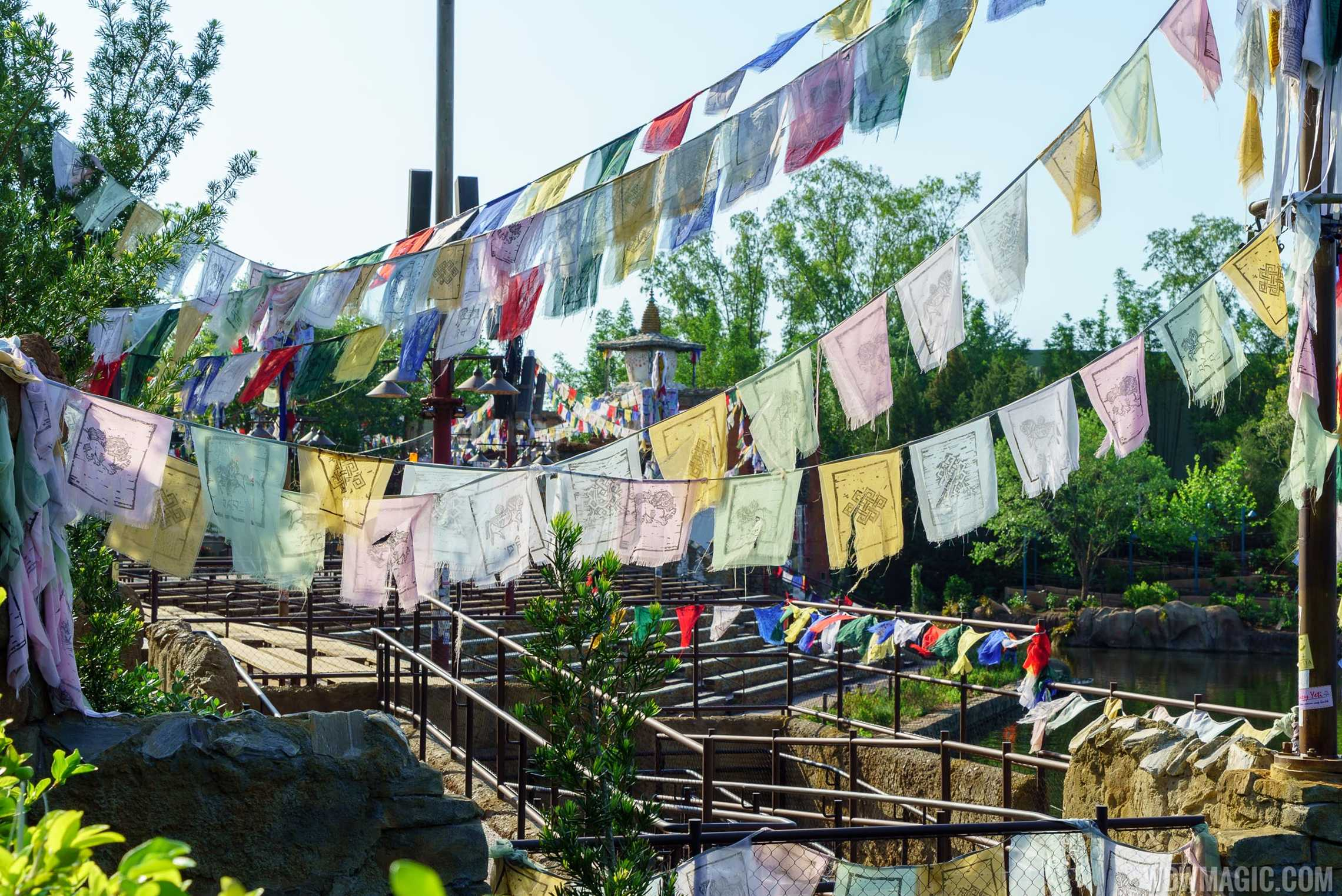 Rivers of Light viewing areas completed