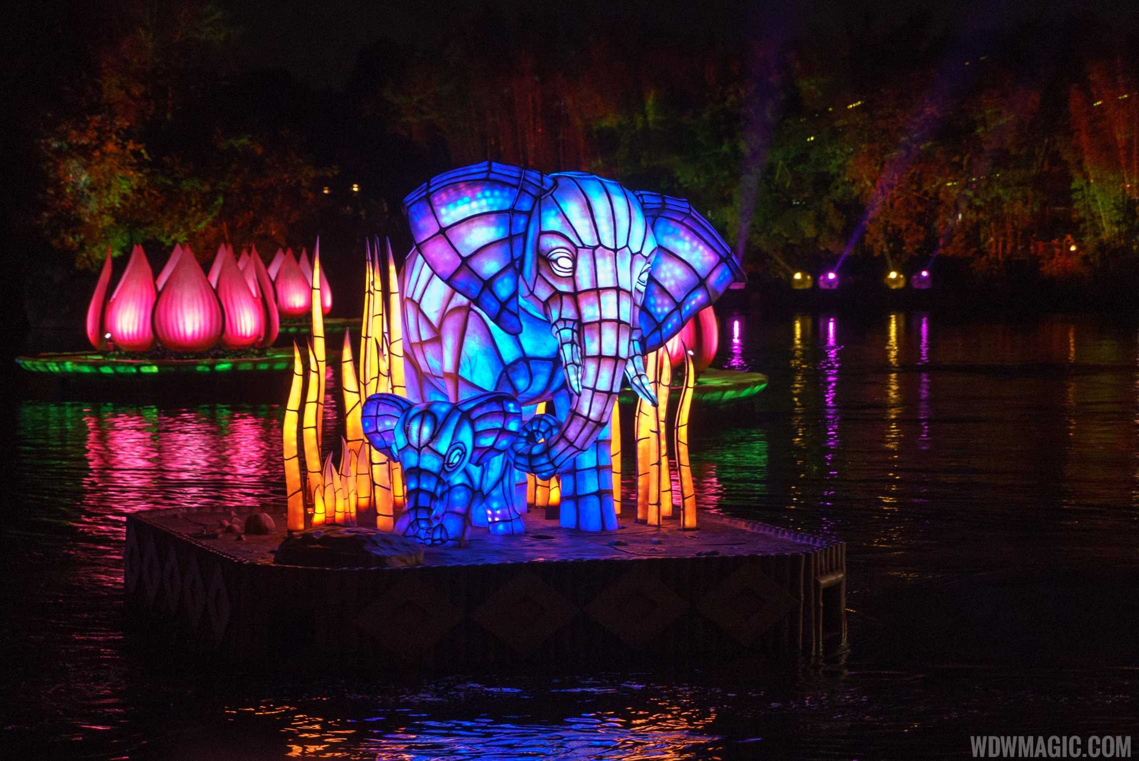 Rivers of Light show