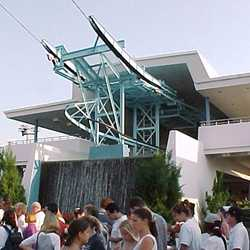 The closed Skyway stations