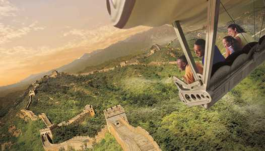 VIDEO  - See clips of two of the new destinations coming to Epcot's Soarin' later this summer
