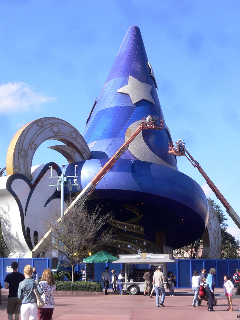 Sorcerer Mickey Hat refurbishment