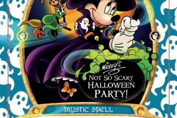 Minnie Mouse's Costume Chaos 2015 Halloween party exclusive card
