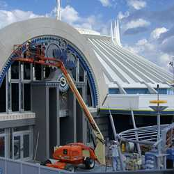 Space Mountain refurbishment