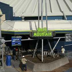 Space Mountain refurbishment