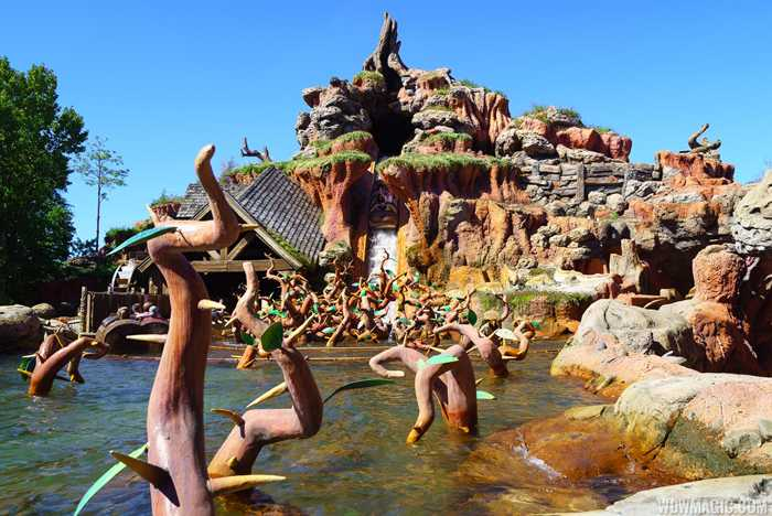 Splash Mountain overview