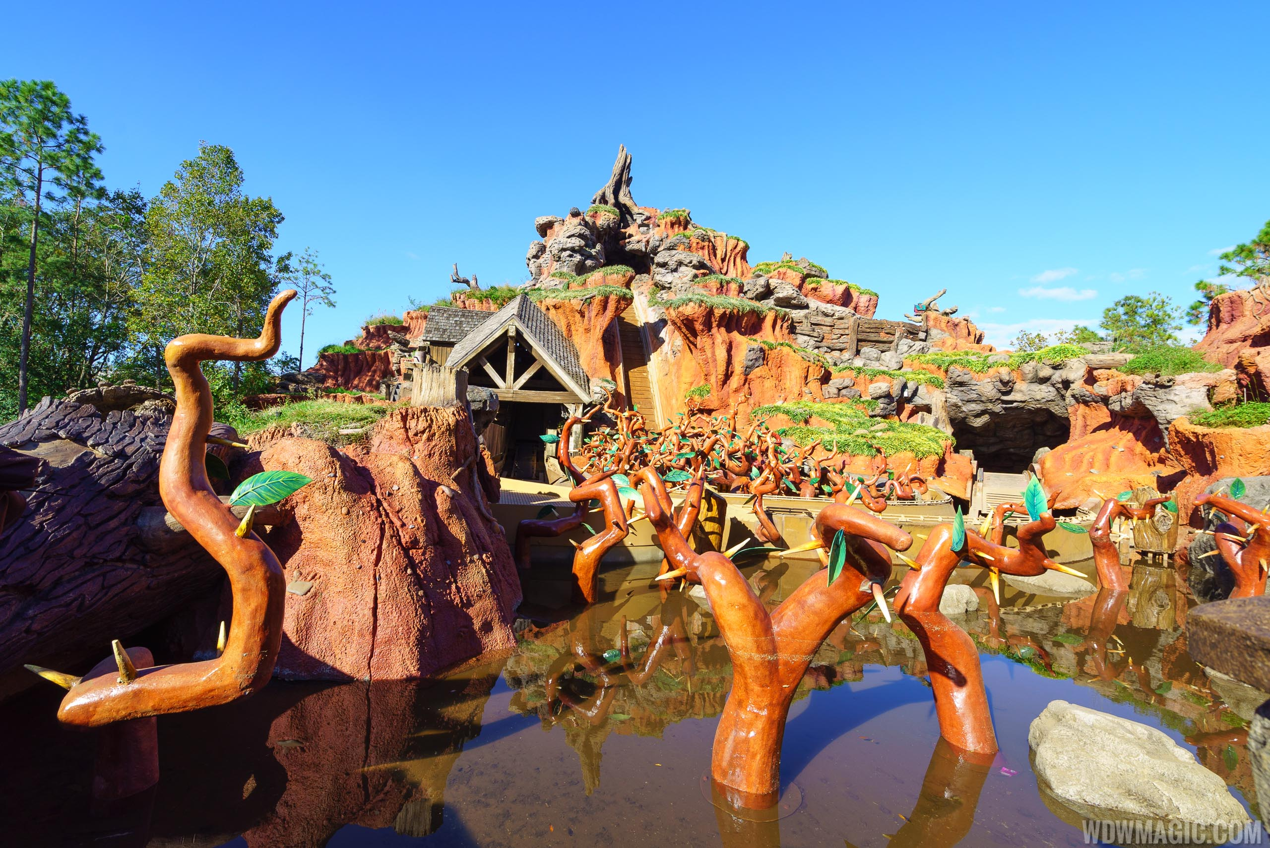 Splash Mountain closing for most of January 2018 for ...