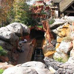 Splash Mountain refurbishment photos