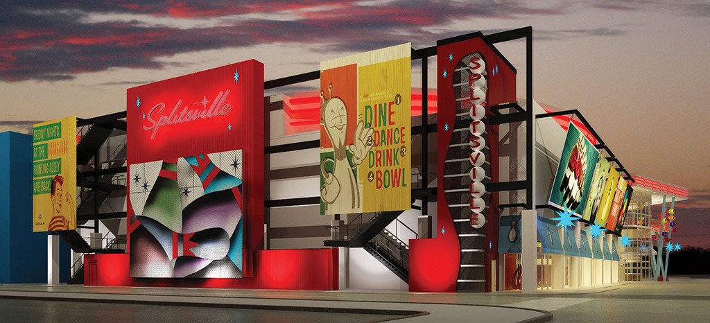 Latest concept for Splitsville
