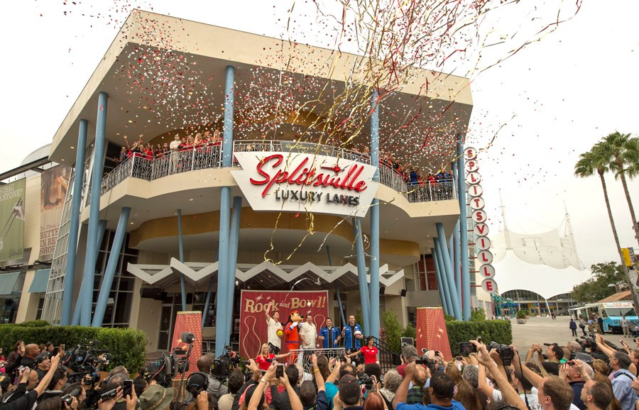 Splitsville dedication ceremony
