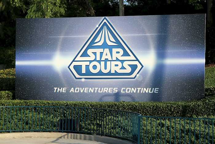 Star Tours - Studios bill board