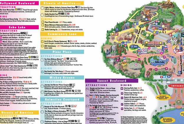 Star Tours removed from guide map