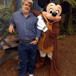George Lucas visits WDW