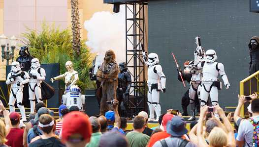 Star Wars - A Galaxy Far, Far, Away returns to Disney's Hollywood Studios