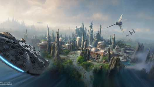 Milestone permits filed for Star Wars Galaxy's Edge ride