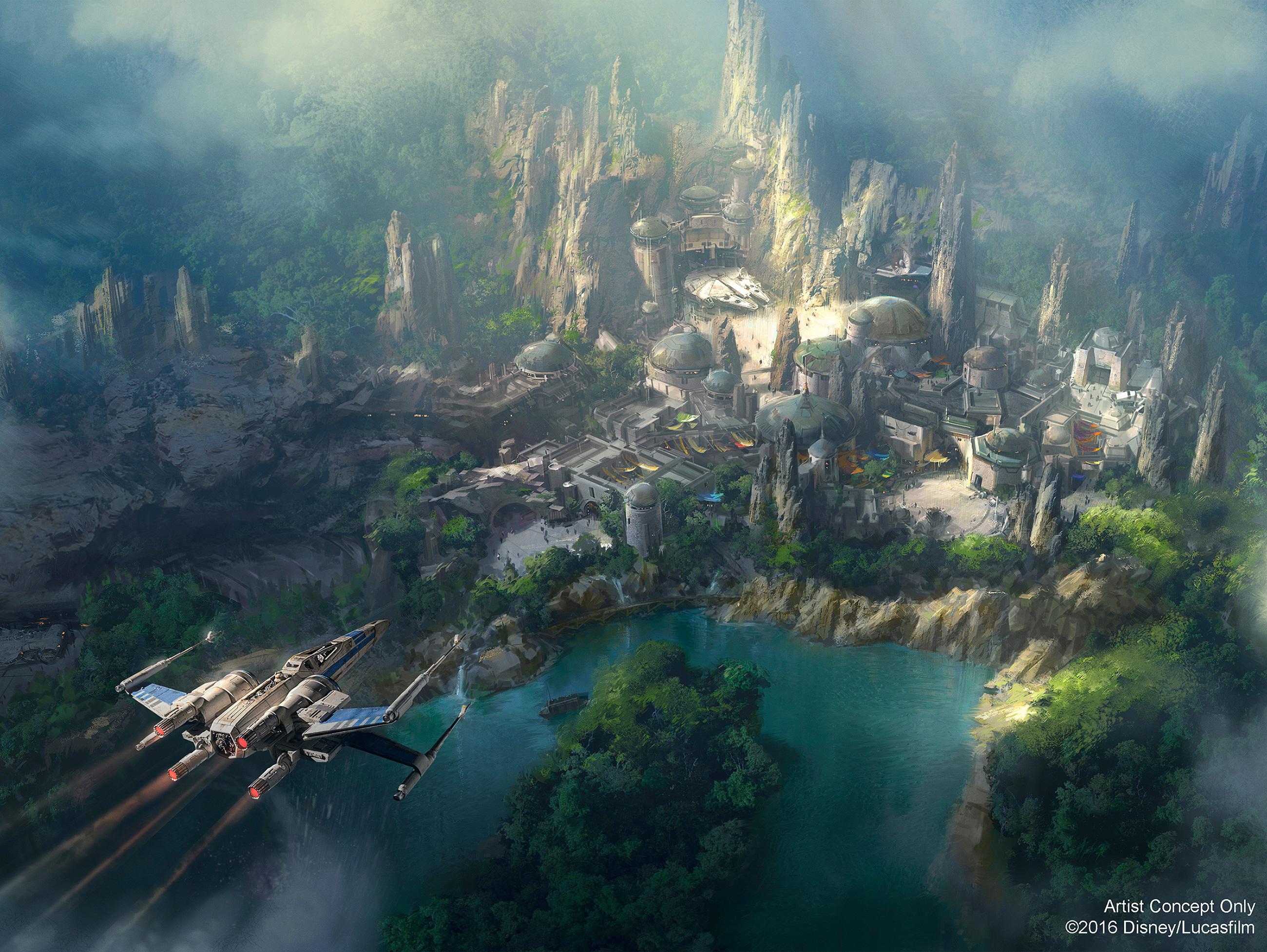 Resultado de imagen para star wars land