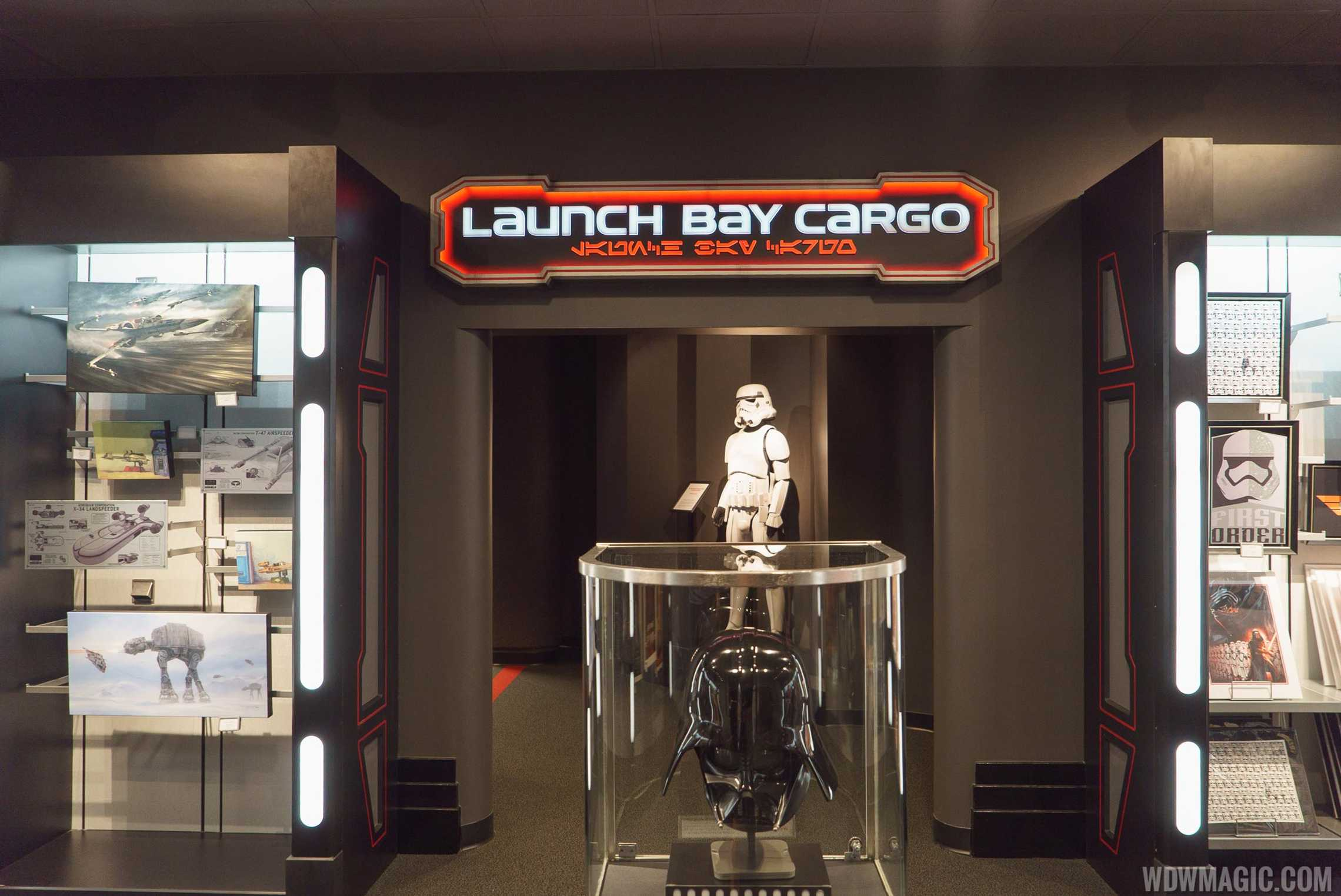 Star Wars Launch Bay - Launch Bay Cargo entrance