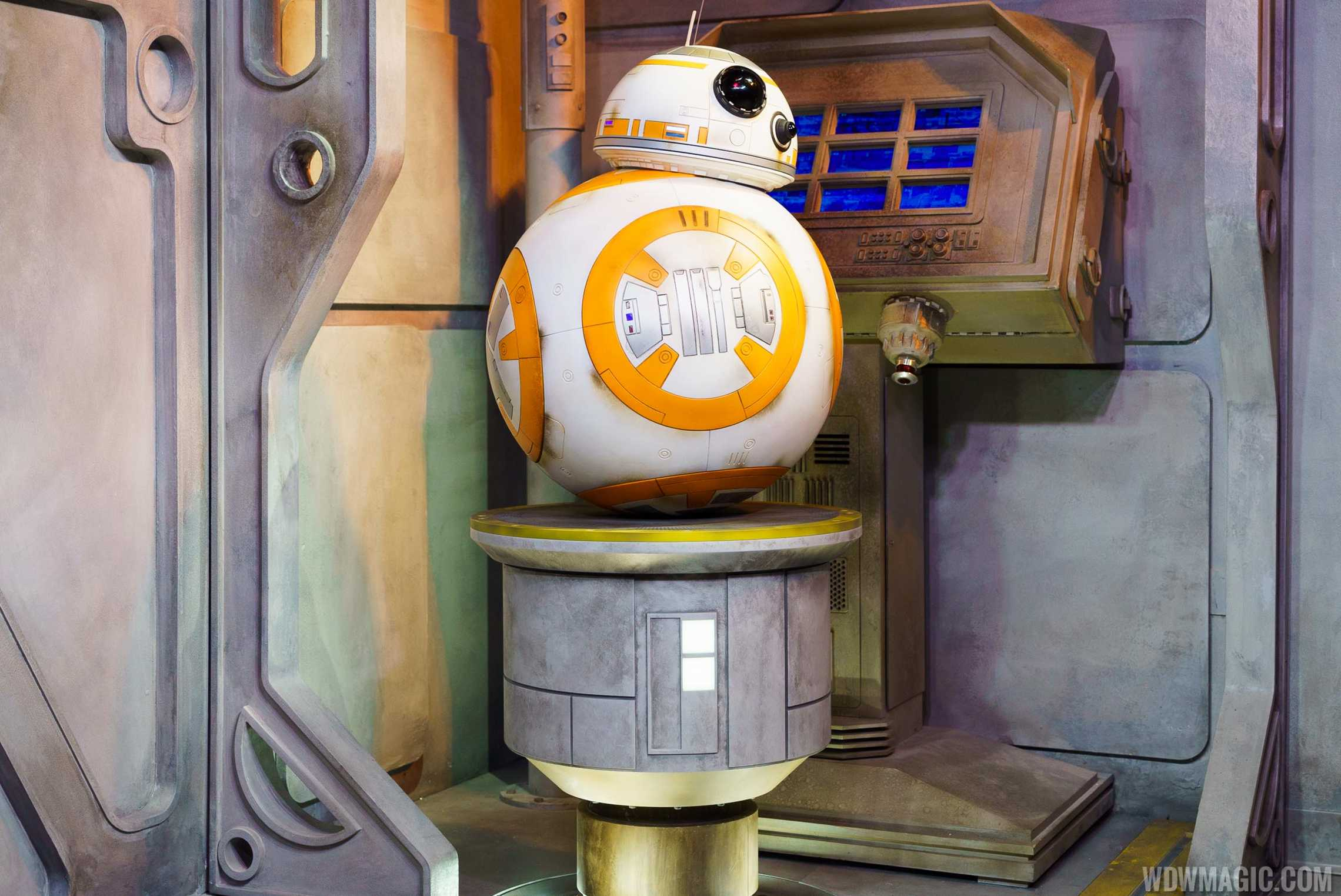 BB-8 at Star Wars Launch Bay