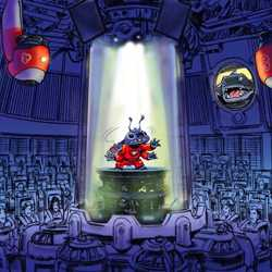 Stitch's Great Escape! concept art