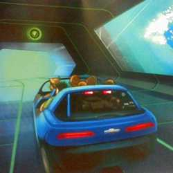 New Test Track in-ride concept art
