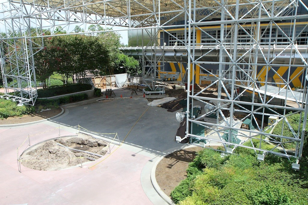 Test Track refurbishment - entrance area