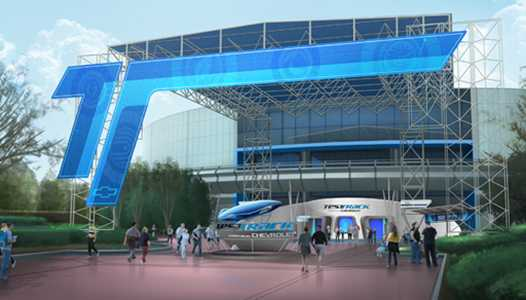 PHOTO - Disney show concept art of new Test Track entrance area