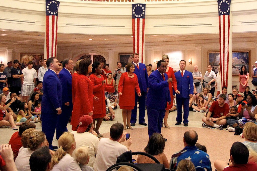 Fourth of July at The American Adventure Pavilion