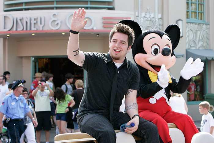 """Newly crowned 2010 """"American Idol"""" Lee DeWyze visits Disney's Hollywood Studios"""