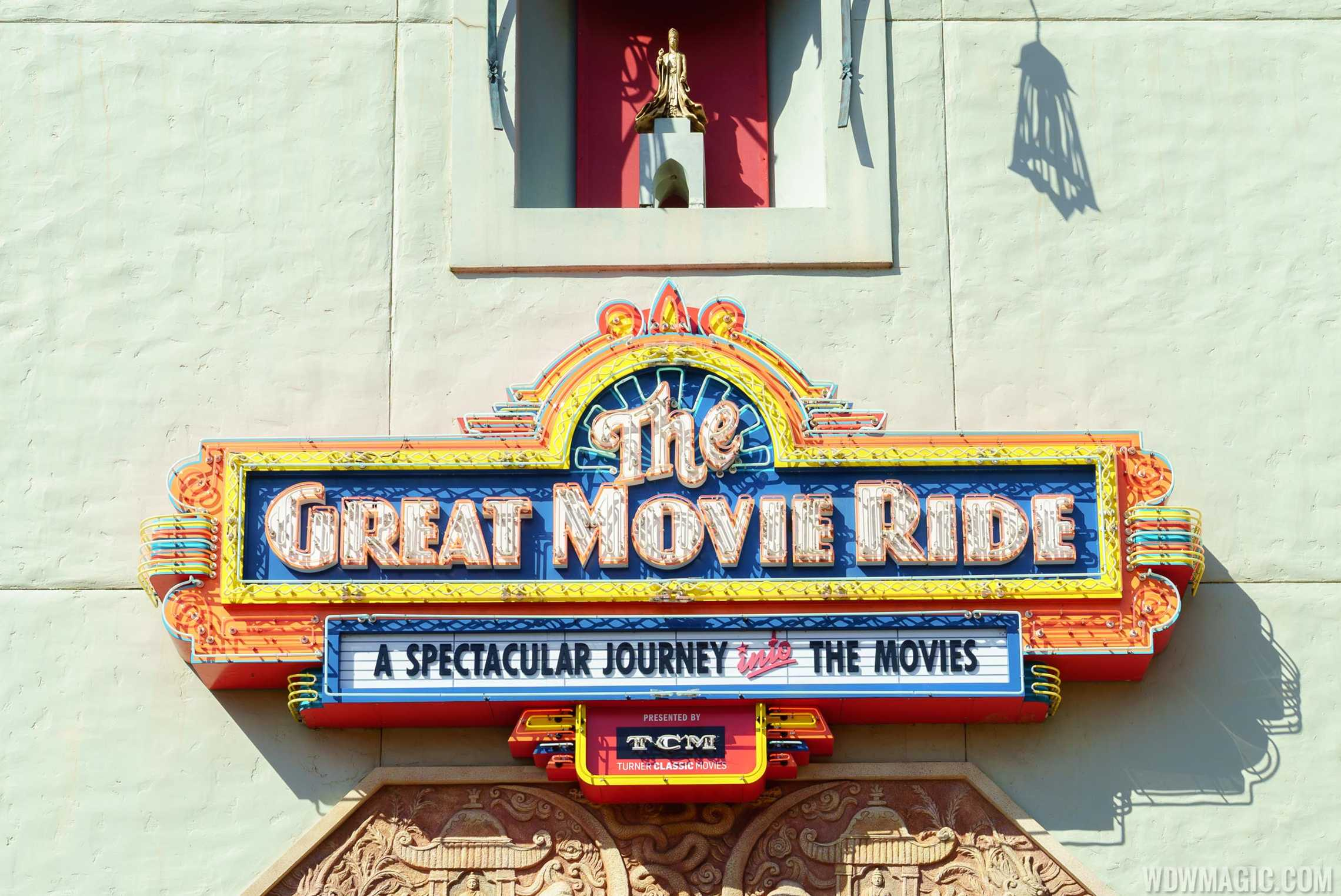 The Great Movie Ride - Signage