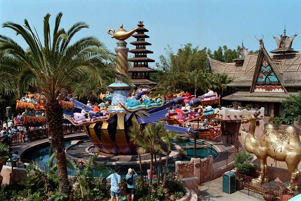 Aladdin area now complete