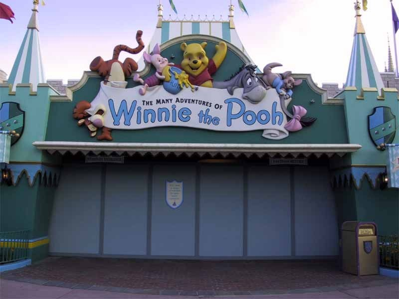 Winnie the Pooh closed for refurbishment