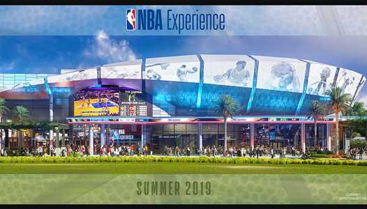 PHOTOS - Concept art and opening details for The NBA Experience at Disney Springs