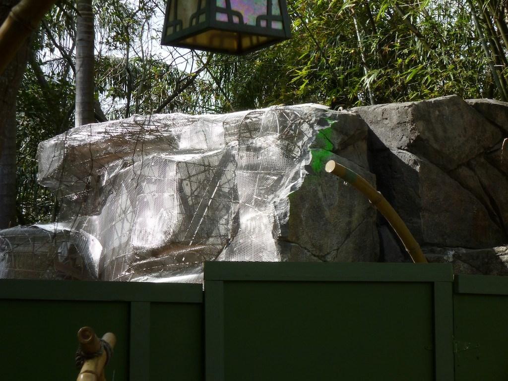 Rock refurbishment