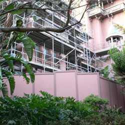 Tower of Terror exterior facade refurbishment