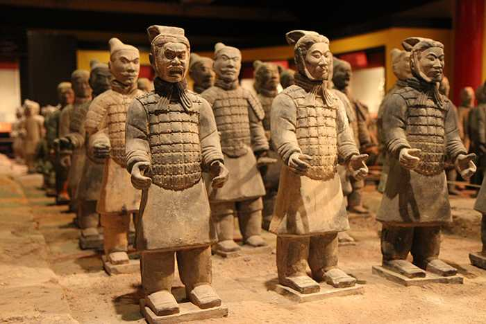 Tomb Warriors exhibit