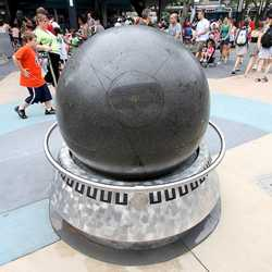 Granite globe return