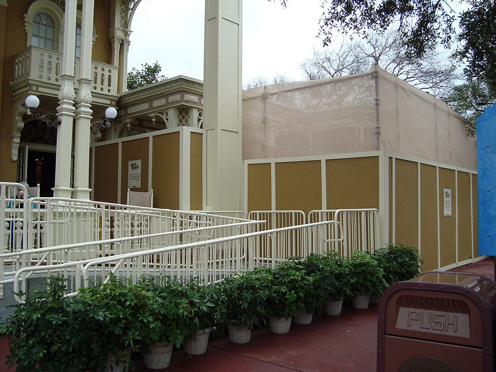 Exterior refurbishment walls